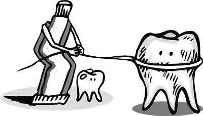 可爱牙齿简笔画画法